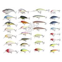 On sale 30pcs Fishing Hard Lures/Baits Set  Color Random  OSDL47