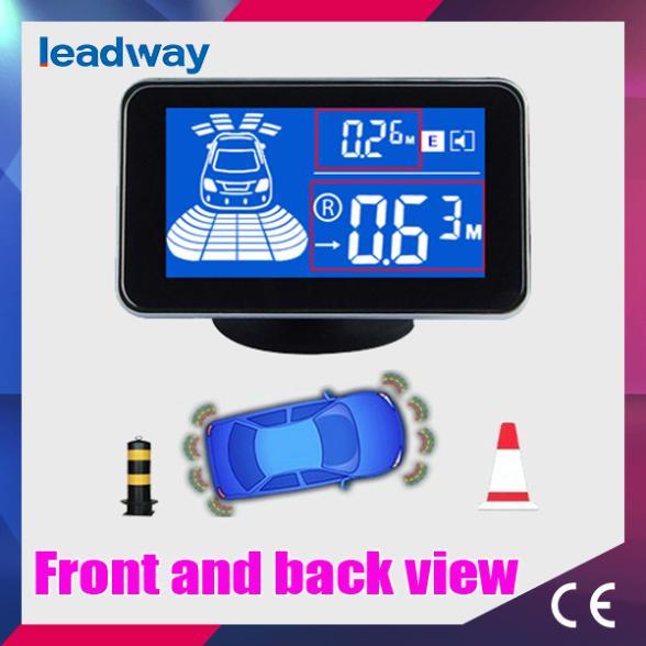 Car parking sensor system with 6/8 sensors Back and front view Reversing sensor sytsem A05-8(China (Mainland))
