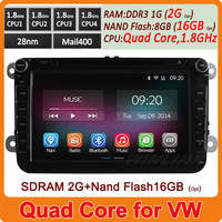 """2014 Newest Car Dvd For 7"""" Volkswagen VW Pure Android 4.2 Car Multimedia Pc Gps Player Stereo Capacitive Screen Free Shipping"""