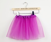 1PC retail Cheap baby girls party tulle tutu Dance tutu skirt  Girls summer short skirt 14 colors Free shipping