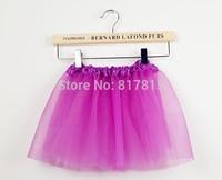 Retailed Children girls tulle tutu Dance tutu Party tutu skirt  3-7 Ys 1PC RETAIL 16 colors