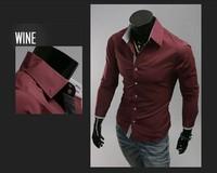 2014 Hot Sale Novelty New Mens Shirts Casual Slim Fit Stylish Mens Dress Shirts Men Fashion Shirts