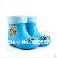 New 2014 children rubber brand keep warm cotton prevent slippery girls shoes female autumn waterproof snow  winter boots 06
