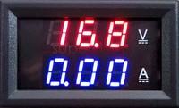 2014 New Red Blue LED DC 0-100V 10A Dual Display Voltage Meter Digital LED Voltmeter Ammeter Panel Amp Volt Gauge #6 TK1382