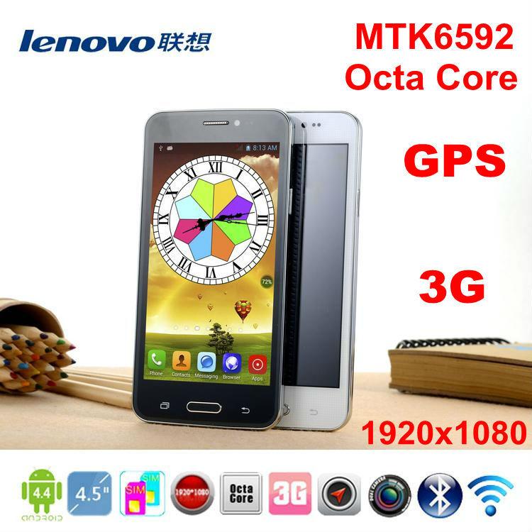 Lenovo A820 s Octa Core 1.9Ghz 4.5 inch MTK6592 moblie phone android 4.4.3 dual SIM GPS 3G WCDMA 2GB ram 1920x1080 phone unlock(China (Mainland))