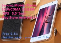"""Lenovo S850 c Phone smart wake 3G GPS MTK6592 Otca Core 3G RAM 16G ROM Android 4.4 mobile phone 13mp 5.0""""Inch cell phones gitfs"""