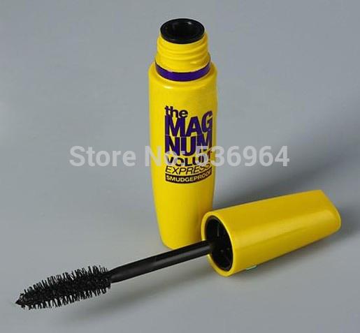 Makeup Cosmetic Volume Eyelash Eye Mascara Glam For Fashion Beauty Women Yellow Box Free Shipping Sper sale 2014 New 1pcs(China (Mainland))