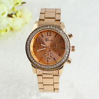 2014 Fashion New Geneva Watch Women dress Analog wristwatches women Casual watch 2014 Ladies Unisex Quartz watches