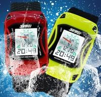 2014 New Fashion Kids Watch 50m Waterproof LED Cartoon Car Sports Style Swim Jelly Silicone Children Digital Watches