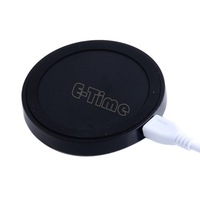 Promotion!!  New  Qi Wireless Power pad Charger for iPhone Samsung Galaxy S3 S4 Note2 Nokia Nexus4 USB Port SV000611 008