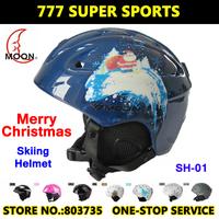 Hot Sales Ultralight Integrally-Molded Ski Helmet Snowboard Skiing Helmets Skateboard Casco Free Shipping