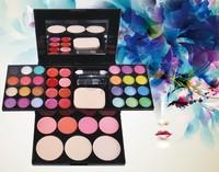 3sets/Lot Wholesale 39 Colors Eyeshadow Palette Sets Professional Make up Kit Makeup Set Cosmetic Blusher Powder SV000822 A2