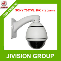 10X optical zoom Sony CCD 700TVL mini PTZ Camera Mini High Speed Dome Camera PTZ pan tilt zoom Outdoor waterproof IP66 CCTV PTZ
