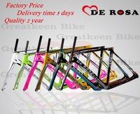 5 days delivery time De Rosa SuperKing 888 carbon road bike frame carbon frame bicycle frameset  bicicleta CYCLING fork BH G6