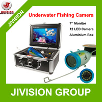 "7"" TFT LCD Fishing Camera Kit Fish Finder HD 800TVL Underwater Video Camera System With 12pcs light Night Vision Fishing Finder"