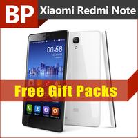 Original Xiaomi Redmi Note 4G LTE 5.5 Inch HD IPS Qualcomm MSM 8916 Quad Core 1.2 GHz Miui V6 Android 4.4 Mobile Phone 1GB RAM