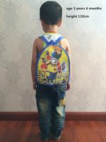 2015 minion children's  backpack for kids boys girls  school bags