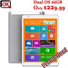 "9.7"" Teclast X98 Air 3G Dual Boot Intel Bay Trail-T Quad Core Tablet PC 2.16GHz Retina Screen 2GB RAM 32GB GPS Phone Call(China (Mainland))"