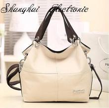 HOT!!!! Special Offer PU Leather bags women messenger bag/ Splice grafting Vintage Shoulder Handbag
