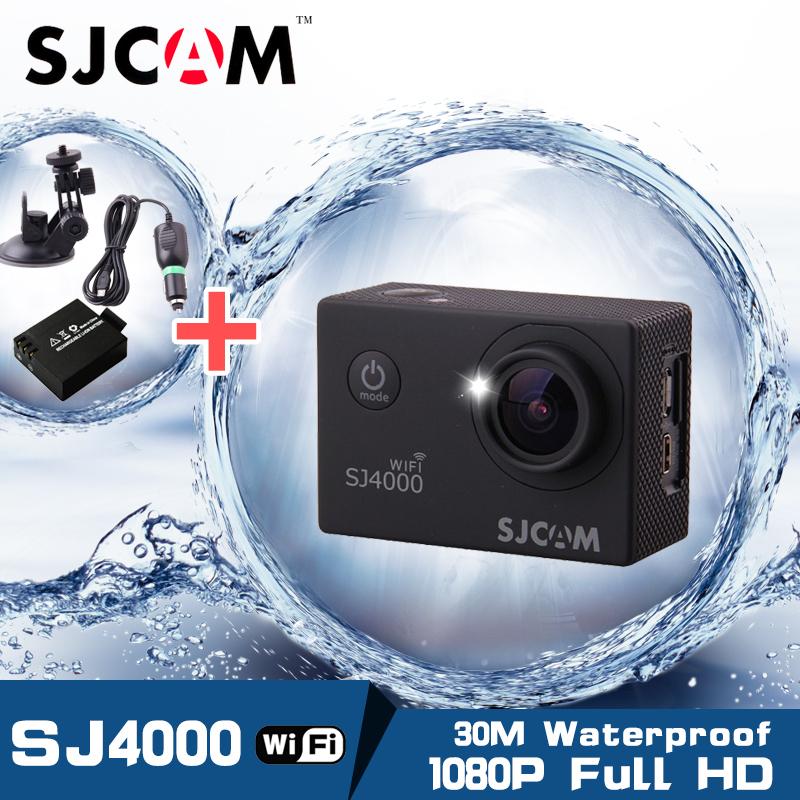 Original! SJCAM WiFi Version SJ4000 WiFi 1080P Full HD GoPro Camera Style Extreme Sport DV Action Camera Div