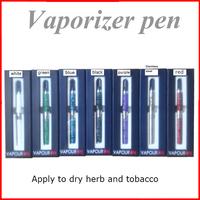 Retail Snoop Dogg new design vaporizer pen vapor e cigarettes 7 colors dry herb vaporizer pen vapor cigarette kits