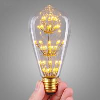 1PC E27 LED Edison antique Bulb 3W LED Vintage Incandescent Bulb Retro Light 110V 220V Edison Lamp Lighting for Home Decoration