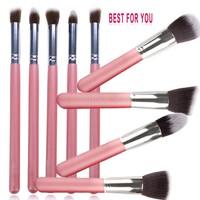 High Quality Styling Tools Super soft makeup brushes set kabuki brush blending eye shadow Foundation brush cosmetic b8 CB027526