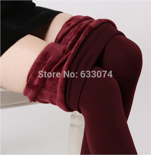 HOT Warm Stirrup Leggings Plus velvet winter women warm leggings pants Fashion Sexy With a windbreak/ snow boots,leggin,leg(China (Mainland))