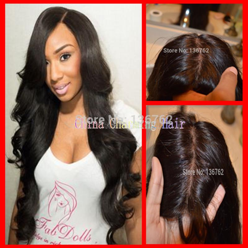 4x4 free part silk top closure charming human hair unprocessed virgin brazilian body wave silk closure with baby hair(China (Mainland))