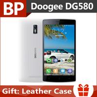 Original Doogee KISSME DG580 5.5 Inch IPS Mt6582 Quad Core Android 4.4 3G Mobile Cell Phone 1GB RAM 8GB ROM 8MP CAM In Stock