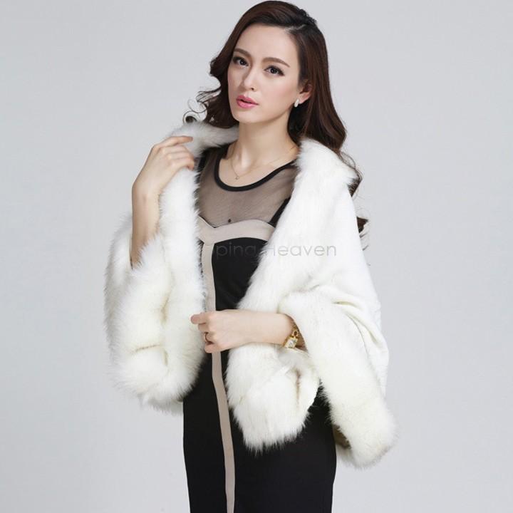 новые моды женщин тонкий Мех Пальто