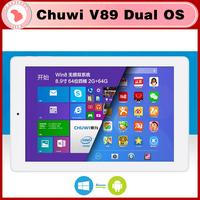 Chuwi V89 dual boot 3G Windows 8.1 Android 4.4 8.9 inch Tablet PC Z3735F Quad Core 5.0MP Camera RAM 2GB ROM 32GB
