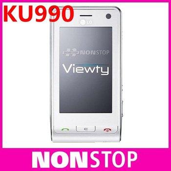 Original LG ku990 viewty cell phone unlocked GSM 3G 5MP Free Shipping