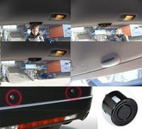 4 Sensors System 12v LED Display Indicator Parking Car Reverse Radar Kit Black 1459