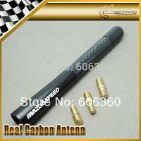 "Mazdaspeed Carbon Short Aerial Car Antenna Matt Back 12CM/4.8"" MAZDA3 MAZDA6 MX5 CX5 CX7 323 626 CX9 RX8"