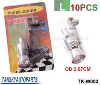 Tansky - Turbo Whistler/Turbo Sound L Size Of Universal Turbo Sound Whistler Muffler Exhaust Pipe (color box) TK-W002 10PCS/LOT