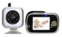 Free Shipping!Digital Wireless Portable 3.2 inch LCD High Quality Color Video Baby Monitor