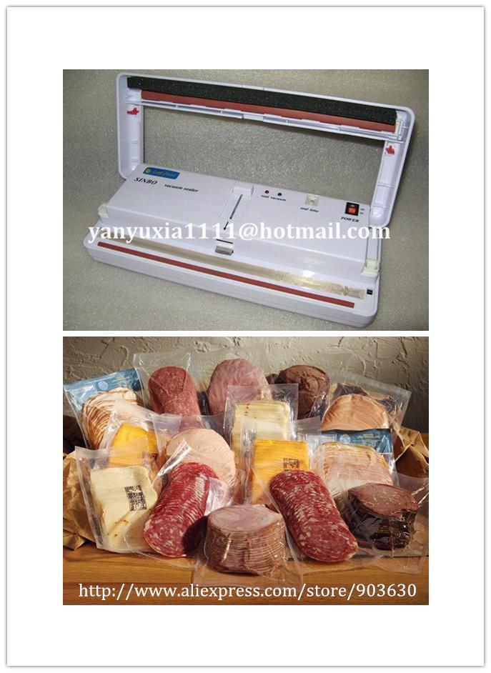 FREE DHL/FEDEX SHIPPING ! 220V/110V SINBO MINI Household Vacuum Plastic Bag Sealer food Packaging Machine DZ-280(China (Mainland))