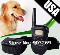 Mail Free + 1PC X-821 300M 100LV Shock and ECO-Friendly Dog Training Collar with LCD Display 1 For 2 Dogs