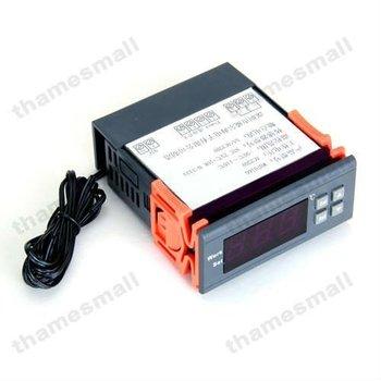 Envío seguro, AC 220 V controlador de temperatura Digital termostato de Control LCD AT8016 - 9.9 ~ 99.9 deg C