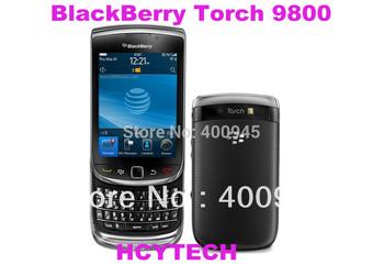 "Refurbished Original Blackberry Torch 9800 Wi-Fi GPS 5.0MP 3.2""TouchScreen+QWERTY Valid PIN+IMEI 3G Phone Free shipping"