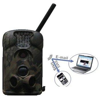 Celular Trail antena externa bellota del LTL LTL - 5210MM 5210MG 940nm azul LED 12MP MMS / GPRS inalámbrico Aire libre cámara de vigilancia