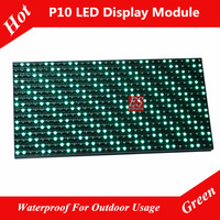 P10 Outdoor Green Color Electronic Screen Panel Module Factory Price Super Low Price