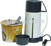 1pcs/lot DC12V 96W 600ml car pot /car hot water heater/ car boiling water cup , Free shipping