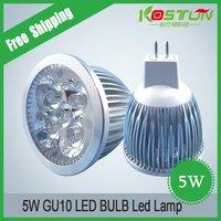 FREE SHIPPING Factory price DC12V 5W MR16 High Power LED lighting LED spotlight