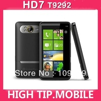 Original Unlocked T9292  HD7 Internal Memory 16GB 3G Windows Mobile Phone GPS WIFI 5MP 4.3''TouchScreen Free shipping