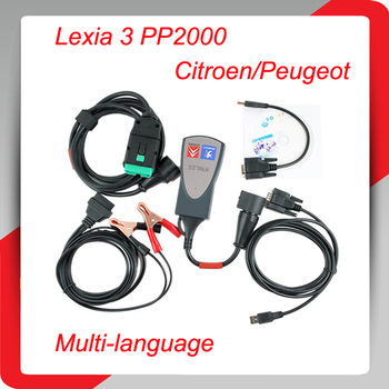 Most Popular and high quality lexia3 interface Peugeot New version lexia 3 Professional scanner