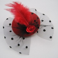Free Shipping- 6 Colors 7cm Fashion Party Hat 24pcs/lot