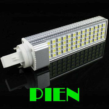 LED Corn Bulb PL 11W 52 LED 5050 SMD Lamp Spot Light E27|G24 home decorating High Power 85V-265V Free Shipping 1pcs/lot(China (Mainland))