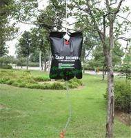 20L / 5 Gallon PVC UV-resistant Camp Shower  Water Bags Solar outdoor Shower bag 1pc